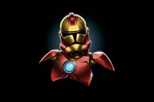 star, Wars, Minimalistic, Iron, Man, Stormtroopers, Marvel, Comics