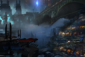 cityscapes, Futuristic, Artwork