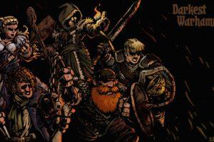 warhammer, Fantasy, Sci fi, Warrior, War, Dark, Action, Fighting, Poster