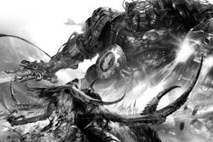 warhammer, Fantasy, Sci fi, Warrior, War, Dark, Action, Fighting