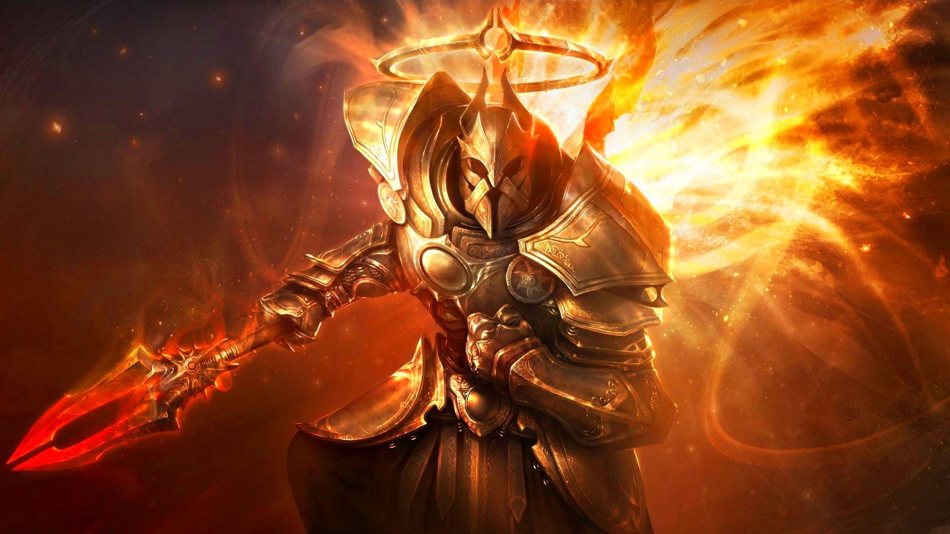 diablo, Dark, Fantasy, Warrior, Rpg, Action, Fighting, Dungeon Wallpaper