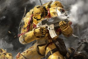 warhammer, Sci fi, Fighting, Shooter, Action, Futuristic, Warrior, 40k