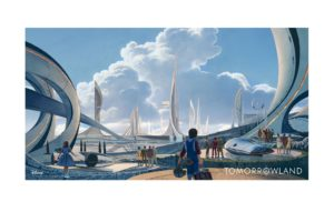 tomorrowland, Action, Adventure, Mystery, Sci fi, Fantasy, Disney, 1tomorrow, Poster, Art, Artwork, City, Cities