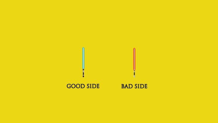 star, Wars, Lightsaber, Yellow HD Wallpaper Desktop Background