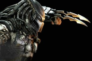 mortal, Kombat, X, Fighting, Action, Battle, Arena, Warrior, 1mkx, Fantasy, Artwork, Predator, Alien, Sci fi