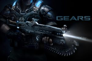 gears, Of, War, Fighting, Action, Military, Shooter, Strategy, 1gw, Warrior, Sci fi, Futuristic, Armor, War, Battle, Poster