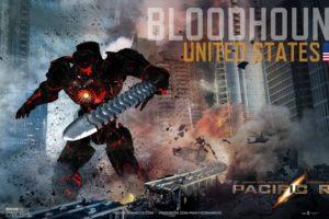 pacific, Rim, Mecha, Robot, Warrior, Sci fi, Futuristic, Poster