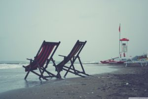 chairs, Lonely, Island, Time, Loneliness, Long