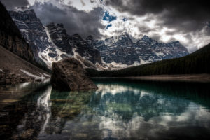 water, Mountains, Nature, Winter, Snow, Lakes, Hdr, Photography