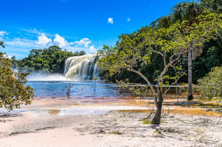 Venezuela Rivers Waterfalls Coast Parks Canaima Nature Wallpapers Hd Desktop And Mobile Backgrounds