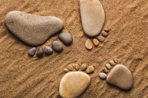 rocks, Stones, Pebbles, Feet, Legs, Feet, Sand, Hang, Ten, Bokek, Mood, Zen