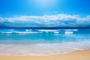 beach, Blue, Summer, Holiday, Beauty, Sea, Ocean, Cloud, Sky