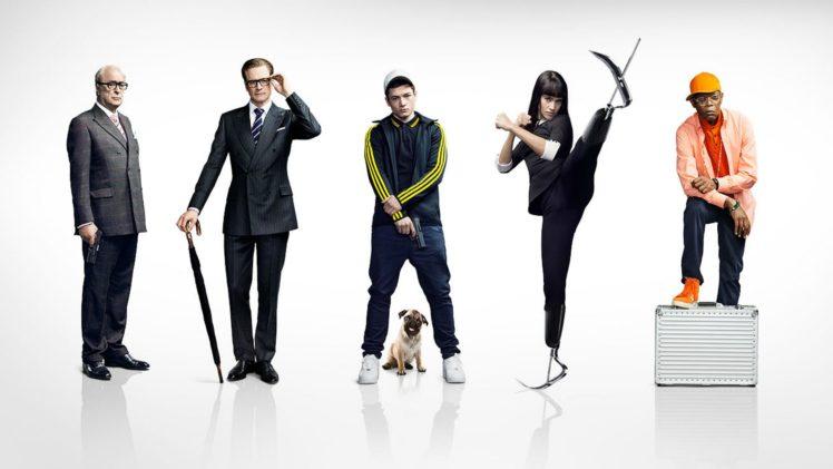 kingsman secret service, Action, Adventure, Spy, Comedy, Crime, Kingsman, Secret, Service HD Wallpaper Desktop Background