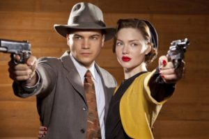 bonnie, And, Clyde, Serie, Tv, Drama, Accion