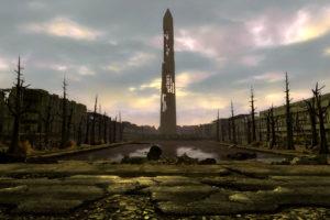 fallout, Sci fi, City, Apocalyptic