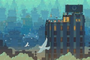 transistor, Game, Anime, City