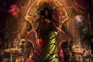 damia, Sage of stone, Magic the gathering, Fantasy, Games, Card games, Cg, Digital art