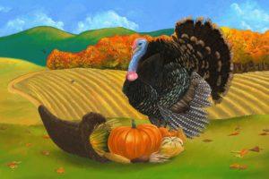 thanksgiving, Holiday, Autumn, Turkey