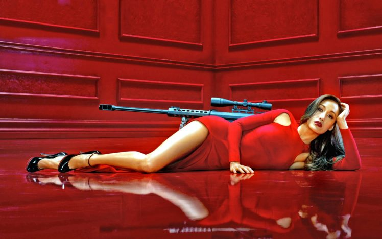 nakita, Series, Action, Crime, Thriller, Spy, Sexy, Babe HD Wallpaper Desktop Background