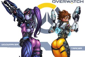 overwatch, Shooter, Action, Fighting, Sci fi, Mecha, Strategy