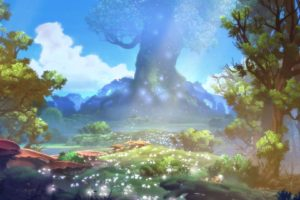 ori blind forest, Action, Adventure, Rpg, Ori, Blind, Forest, Fantasy, Magic, 1oribf