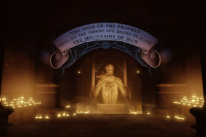 bioshock, Bioshock, Infinite, Shrine, Prophet, Candles, Fantasy, Text