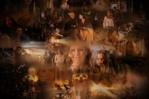 buffy, Vampire, Slayer, Supernatural, Dark, Horror, Thriller, Series, Action, Drama, Fantasy, Sarah, Michelle, Gellar, Poster