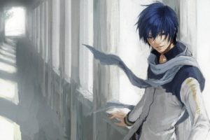 vocaloid, Blue, Eyes, Kaito,  vocaloid , Blue, Hair, Short, Hair, Anime, Boys
