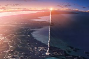 screenshots, Makoto, Shinkai, 5, Centimeters, Per, Second, Anime, Contrails