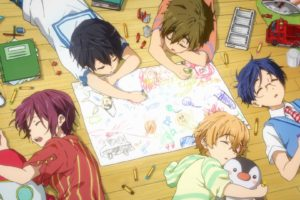 anime, Series, Free, Group, Friend, Cute, Pencil, Color, Sleep, Children