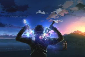 sword, Art, Online, Ii, Animation, Fighting, Sci fi, Japanese, Anime, 1saoll, Fantasy, Warrior