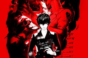 persona, 5, Protagonist, Rpg, Anime, Manga, Dungeon, Simulation, Five, 1pers5, Megami, Tensei, Poster