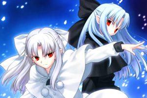 melty, Blood, Ren, Shingetsutan, Tsukihime, White, Ren