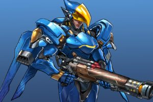 overwatch, Shooter, Action, Fighting, Mecha, Sci fi, Strategy, Warrior