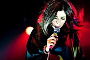 marina, And, The, Diamonds, Blonde, Face, Microphone, Concert