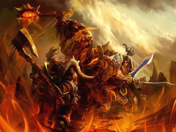 warcraft, Action, Adventure, Fighting, Warrior, World, Online, Magic, Rpg, Wow, Blizzard, Mmo, Fantasy HD Wallpaper Desktop Background