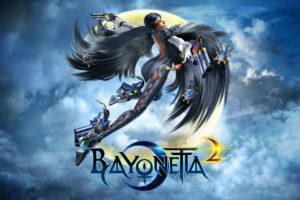 bayonetta, Pistols, Wings, Flight, Games, Girls, Fantasy, Comics, Superhero