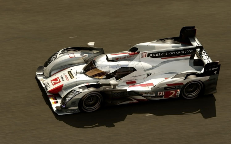 2013 Audi R18 E Tron Quattro Race Racing Le Mans Fc