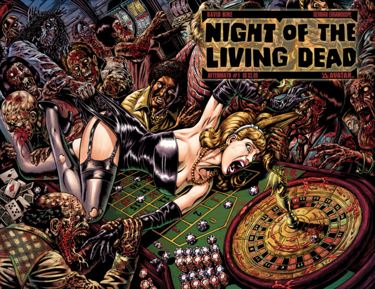 Night Of The Living Dead Avatar Press Je Wallpapers Hd
