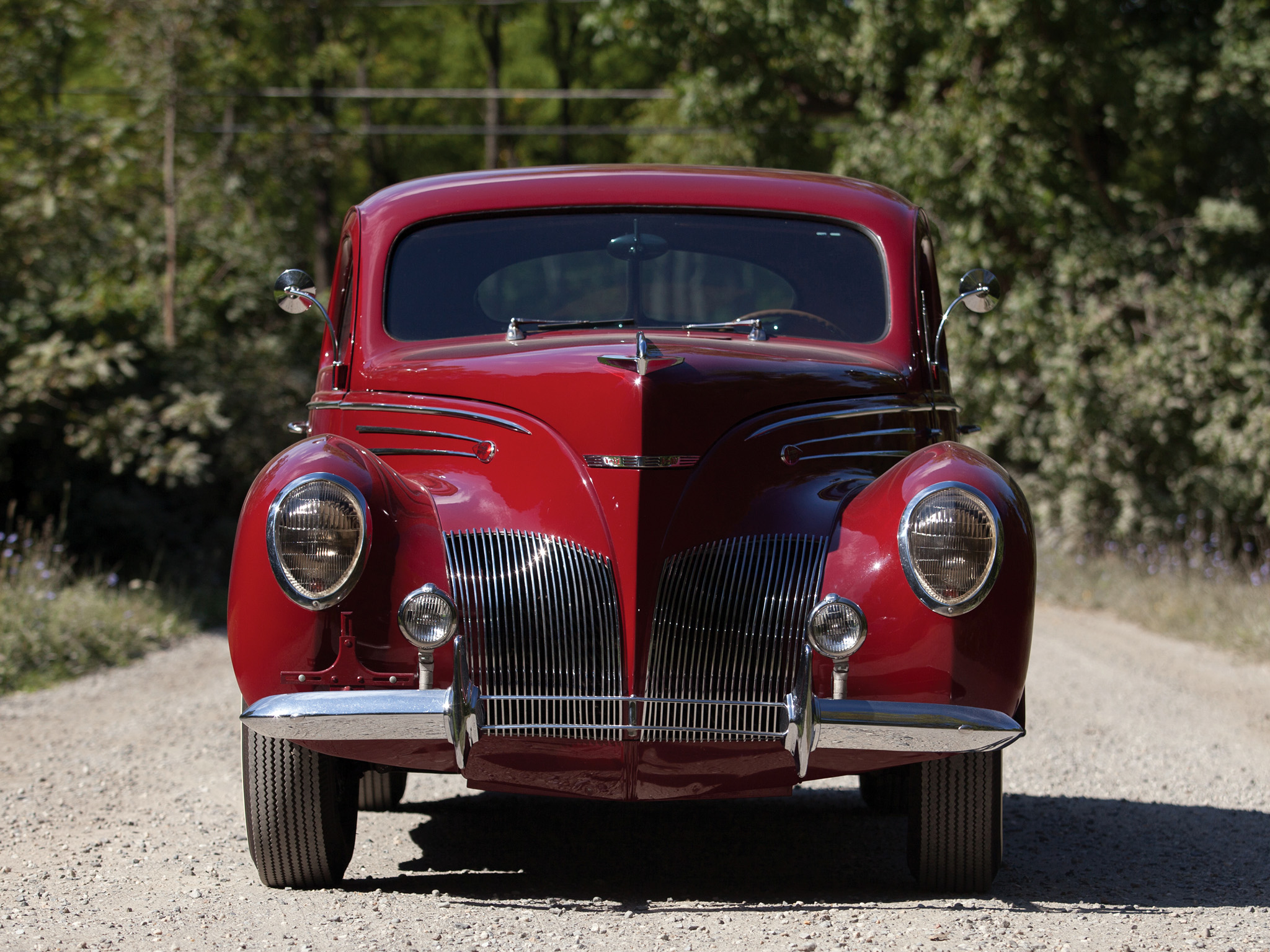 1939, Lincoln, Zephyr, Coupe, H 72, Retro Wallpaper