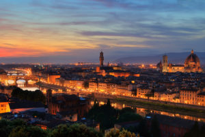 city, Florence, Italy