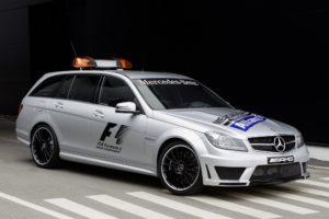 2011, Mercedes, Benz, C63, Amg, Estate, F 1, Medical, Car, S204, Race, Racing, Formula, One, Stationwagon