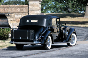 1938, Lincoln, Model k, Semi collapsible, Cabriolet, By, Brunn, Retro, Luxury, Fs