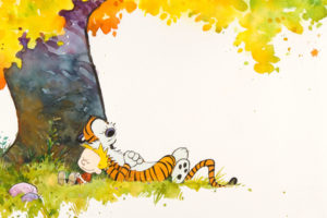 calvin, And, Hobbes, Comics, Autumn, Mood