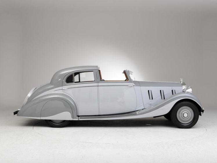1937, Rolls, Royce, Phantom, Iii, Sports, Sedanca, De, Ville, Gurney, Nutting, Retro, Luxury HD Wallpaper Desktop Background