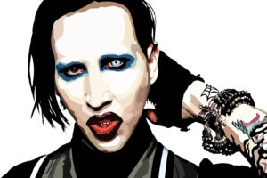 marilyn, Manson, Industrial, Metal, Rock, Heavy, Shock, Gothic, Glam, Dark, Tattoo, Art