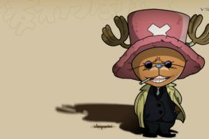 one, Piece,  anime , Chopper, Anime, Tony, Tony, Chopper