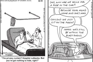 close to home, Real life adventures, Comicstrip,  6