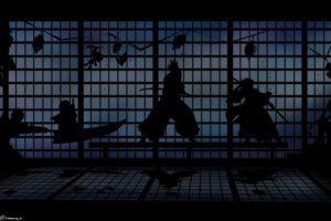 bleach, Kurosaki, Ichigo, Silhouette, Window, Nelliel, Tu, Odelschwanck, Shihouin, Yoruichi, Kuchiki, Rukia, Hitsugaya, Toshiro, Anime, Abarai, Renji, Manga