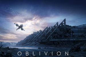 oblivion,  2013, Film , Clouds, Movies, Sci fi, Spaceship, Apocalyptic